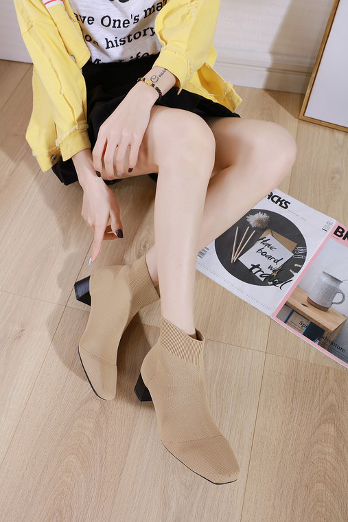 Ava Beige Boots