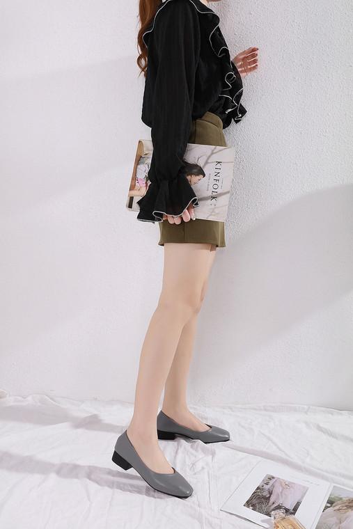 Riley Grey Heels