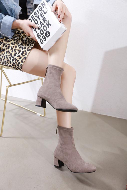 Lillian Grey Boots