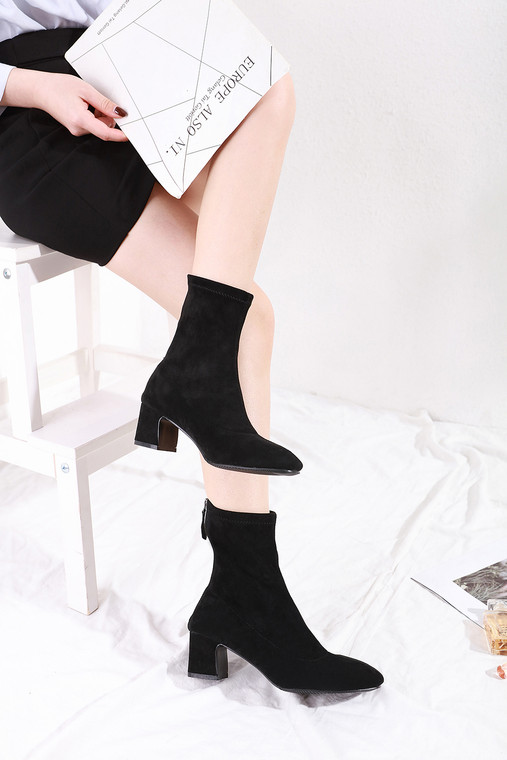 Lillian Black Boots