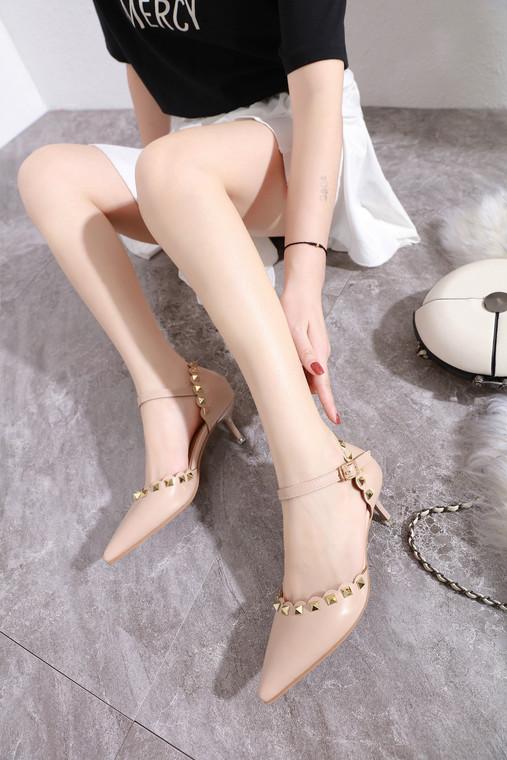 Alison Beige Heels