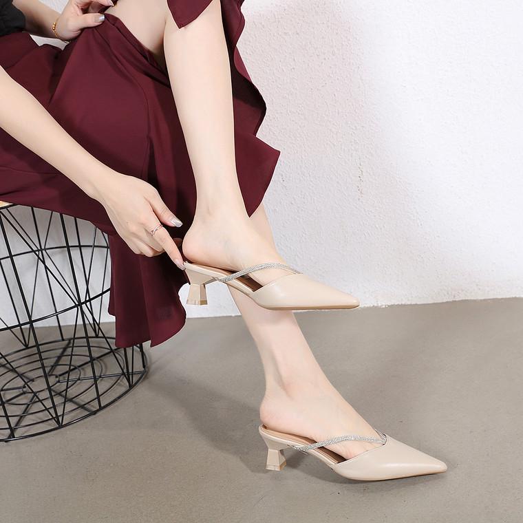 Lisa Beige Heels