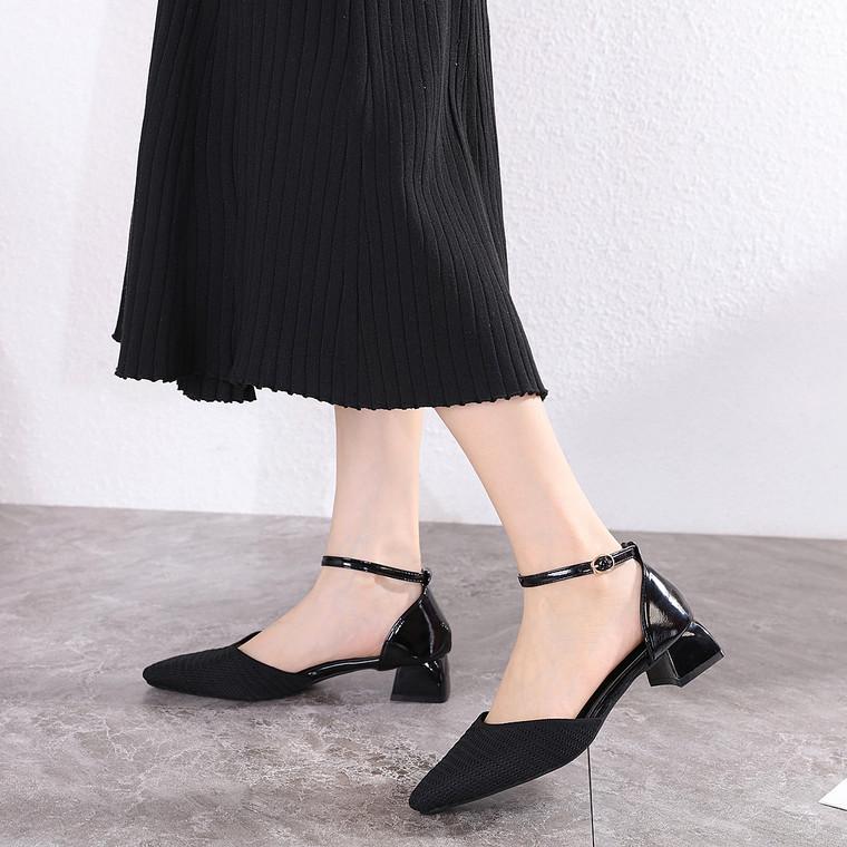 Noelle Black Heels