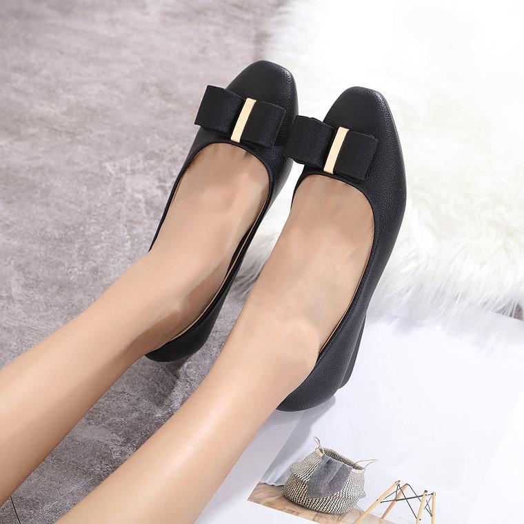 Paula Black Heels