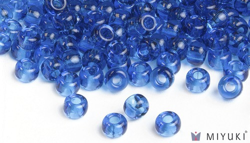Miyuki 6/0 Transparent Glass Beads