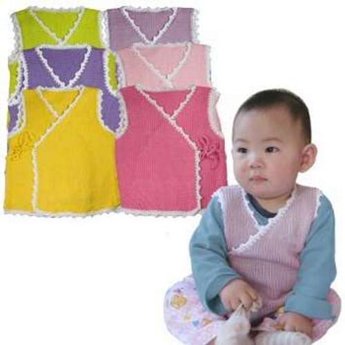 HiyaHiya Lovely Baby Vest Project Kit - Purple