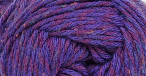 Kraemer Yarns Tatamy Tweed Worsted Yarn - #1207 Purple