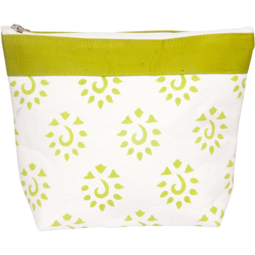 Knitter's Pride Neon Green Amber Big Zipper Pouch