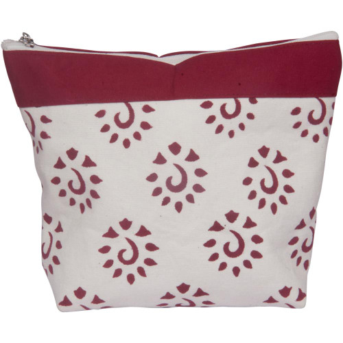 Knitter's Pride Burgundy Amber Big Zipper Pouch