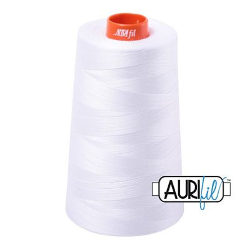 Aurifil Cotton Mako Thread 50wt 6452 yd cone
