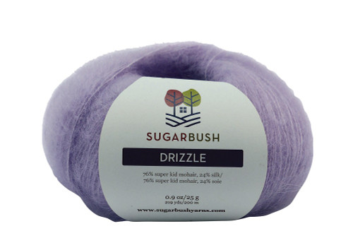 Drizzle Mohair/Silk Super Fine Yarn by Sugar Bush Yarns