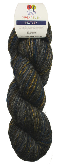 Motley Alpaca/Wool DK Yarn by Sugar Bush Yarns