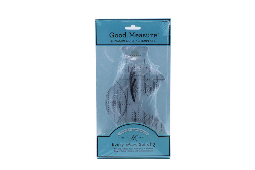 Good Measure Longarm Quilting Template by Amanda Murphy - Every Wave set of 3