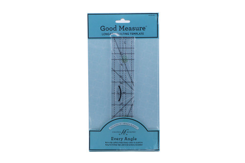 Good Measure Longarm Quilting Template by Amanda Murphy - Every Angle