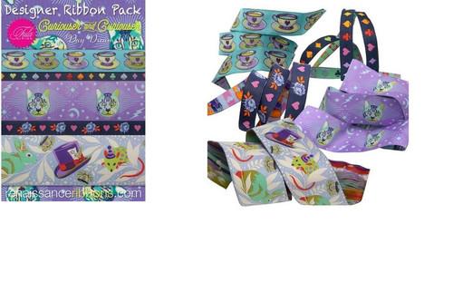 Tula Pink Curiouser & Curiouser Daydream Designer Renaissance Ribbon Pack