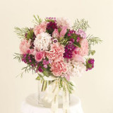 Pink florals in a vase