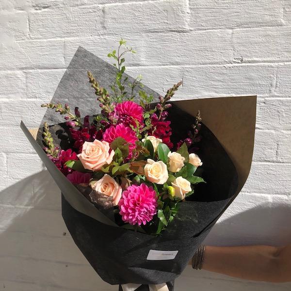 Local grown flower bouquet