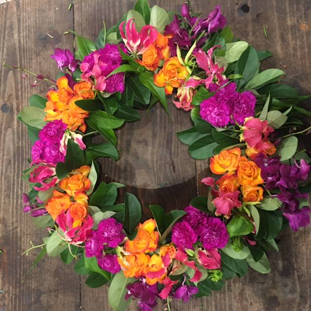 Send a Bright Funeral Wreath in Sydney - Funeral Flowers Sydney