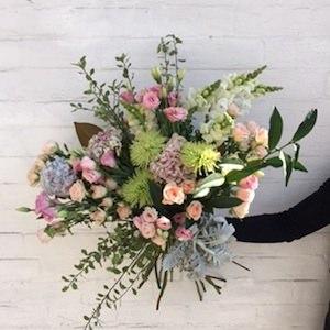 Nature's Pastel Bouquet