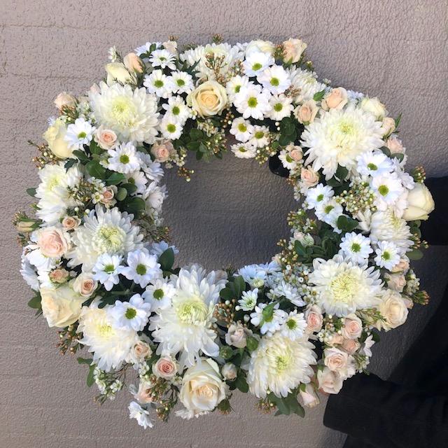 Send Divine Funeral Wreath in Sydney - Funeral Flowers Sydney