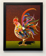Picture of Splendor by Bob Coonts framed and display in the COLOR 2021 exhibition at 3 Square Art