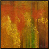 Picture of Aspen Fall by Rose Freeland with frame
