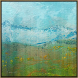 Picture of Aspen Spring by Rose Freeland with frame