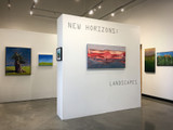Shifting Sands by Carol Schinkel on display at the New Horizons: Landscapes exhibition at 3 Square Art 2018