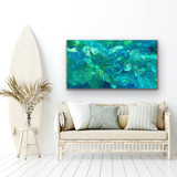 Picture Tranquility by Carol Schinkel displayed in room