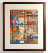 Picture of Tappezzeria Petrarchi by Barbara Olsen framed on a wall