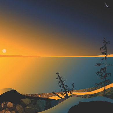 Golden Lake by Phil Leith-Tetrault