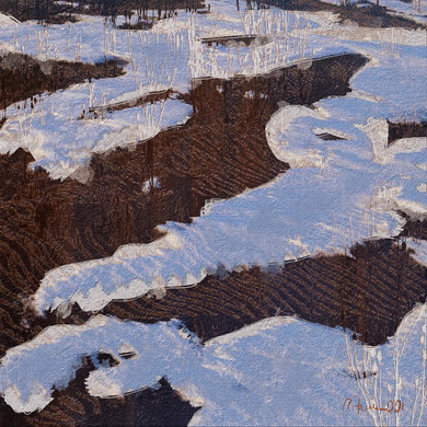 Snow Field by Rose Freeland