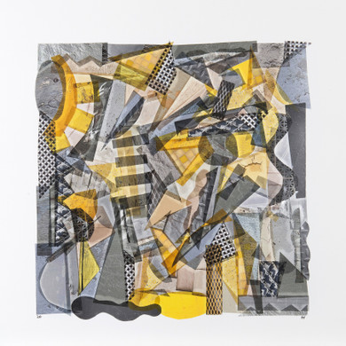 Grey with Touches of Yellow by Capucine Boucart