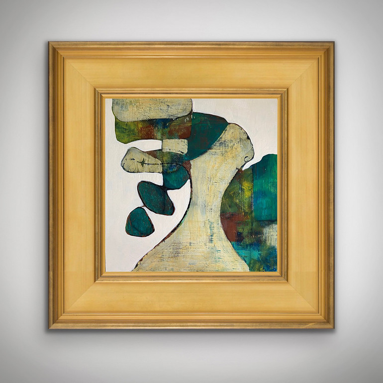 Picture of Well Being by Bernadette Youngquist with frame