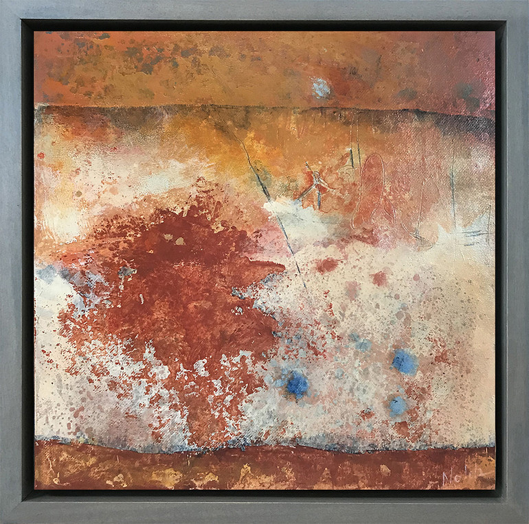 Substrate by Rebecca Nolda with frame