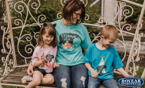 B-WEAR PRESENTS NEW COMPANION TEES JUST IN TIME FOF MOTHER'S DAY