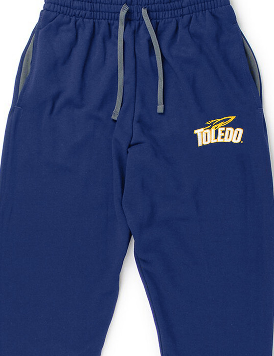 University Of Toledo Rockets Pocketed Sweatpants (Navy)