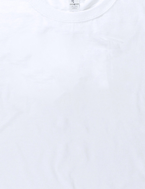 Plain Youth Short Sleeve Classic Tee (White)
