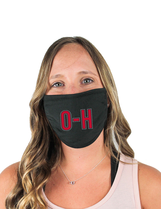 O-H Cloth Face Covering (Black)