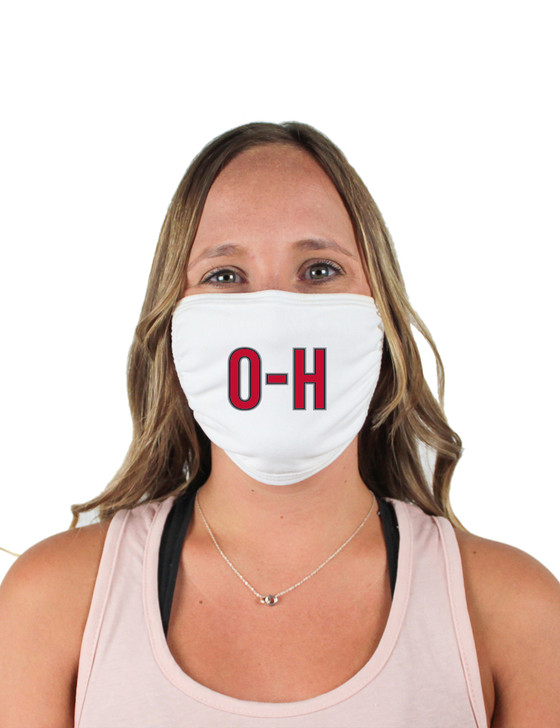 O-H Cloth Face Covering (White)