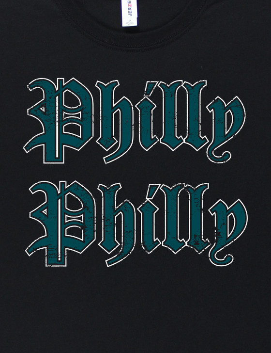 Philly Philly Short Sleeve Premium Tee (Black)