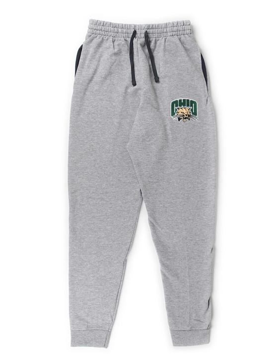 Ohio University Bobcats Pocketed Sweatpants (Athletic Heather)