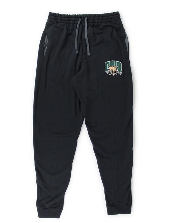 Ohio University Bobcats Pocketed Sweatpants (Black)