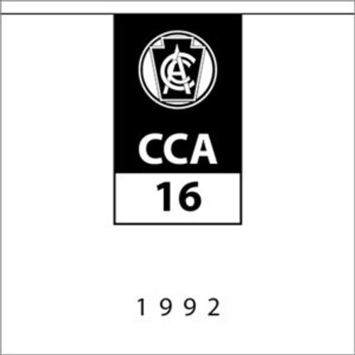 CCA 16 Electronic