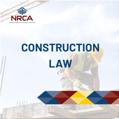 Construction Law - Online Construction Course