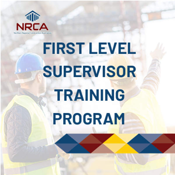 First Level Supervisor Training Program - Online Construction Course
