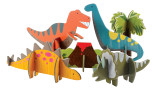 Petit Collage Pop-Out and Play Dinosaurs