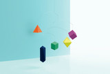 Small Good Things Colorful Polygon Mobile
