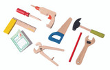 I am Working Wooden Tool Kit
