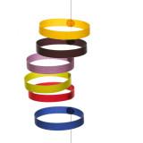 Tät-Tat Circula Mobile, Multicolor